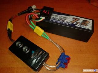 Turnigy 7.2 Ah Lipo akkumulátor egy