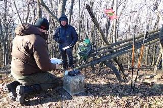 December 30. egy találkozó a HA/EM-009-es Óvár hegycsúcson.