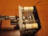 Forgókondenzátor és gom párosítása