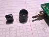Alinco DM330MVE feszültség és frekvencia beállító ikerpotméter