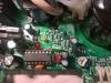 Alinco DM330MVE vezérlő IC és a C14 kondi