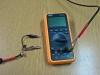 diódás mérőfej multiméterhez csatlakoztatva