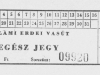 Kisvasúti jegy.