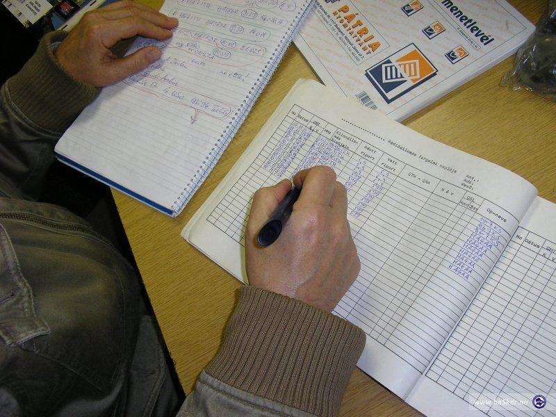 HA5KDR ITU log kitöltése