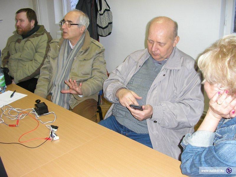 Norbert, ha4aa András, Gábor és jeltolmács Ildikó