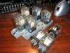 EVIG KR11 relé és foglalat, jelen esetben 24 Volt DC változat